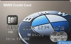 BMW Credit Card