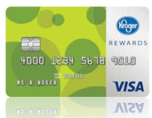 Kroger 1-2-3 Reward Visa Card