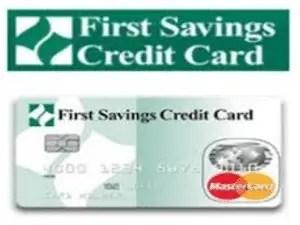 First Savings Credit Card