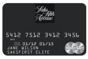 Saks Fifth Avenue MasterCard