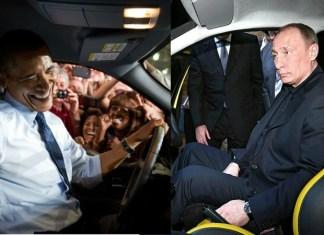 Обама, Путин и автомобили