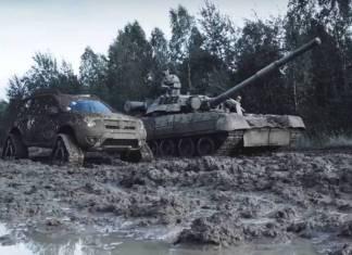 Renault Duster против Т-80