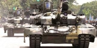 Украинский танк «Оплот» на вооружении армии Таиланда