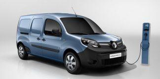 Коммерческий электромобиль Renault Kangoo Z.E.