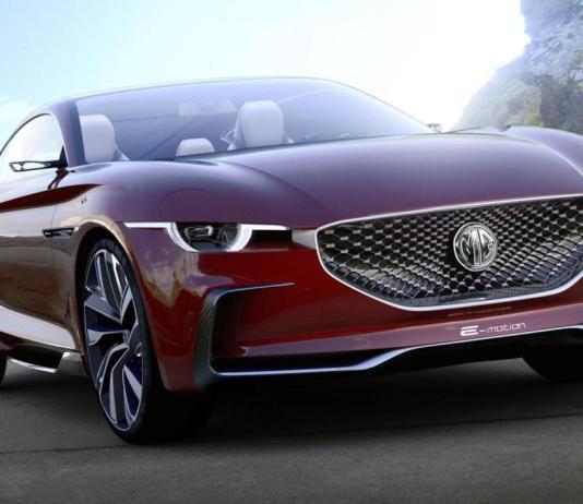 Концепт электромобиля GM E-Motion