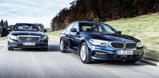 BMW 530d xDrive vs Mercedes-Benz E350d