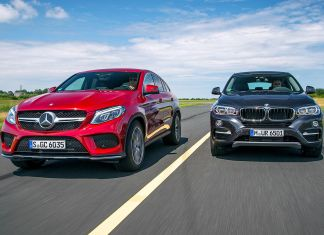 BMW X6 vs Mercedes GLE Coupe