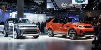 Автомобили Land Rover