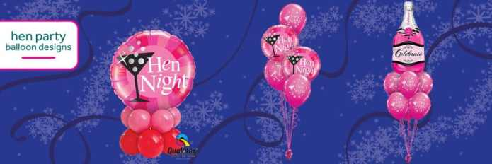 Cardiff Balloons Offers Hen Party Designs Too