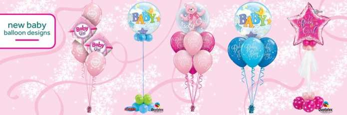 Cardiff Balloons Offer New Baby Balloon Decorations