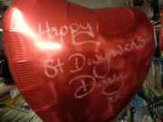 St Dwynwens Day Balloon
