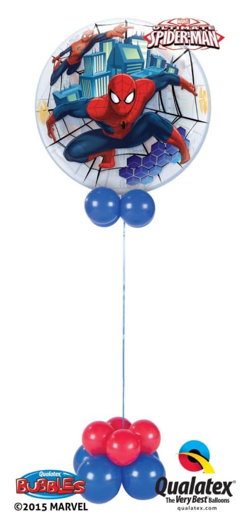 Spiderman Bubble Image