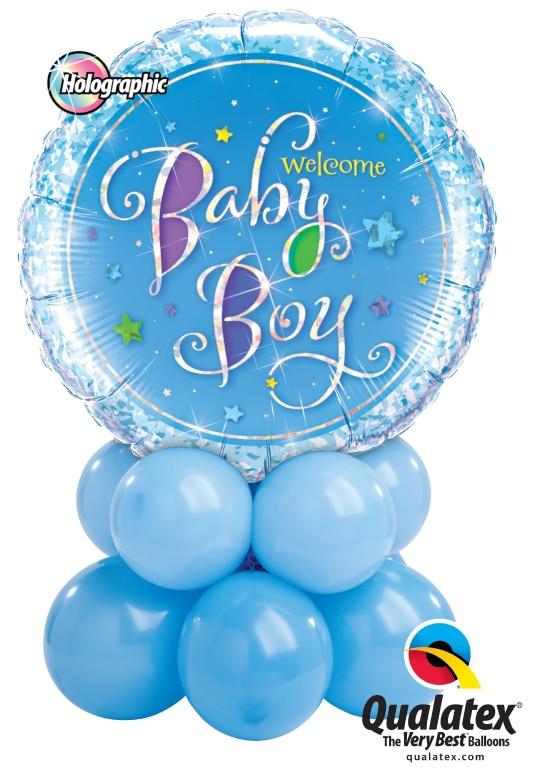 Welcome Baby Boy Mini Image