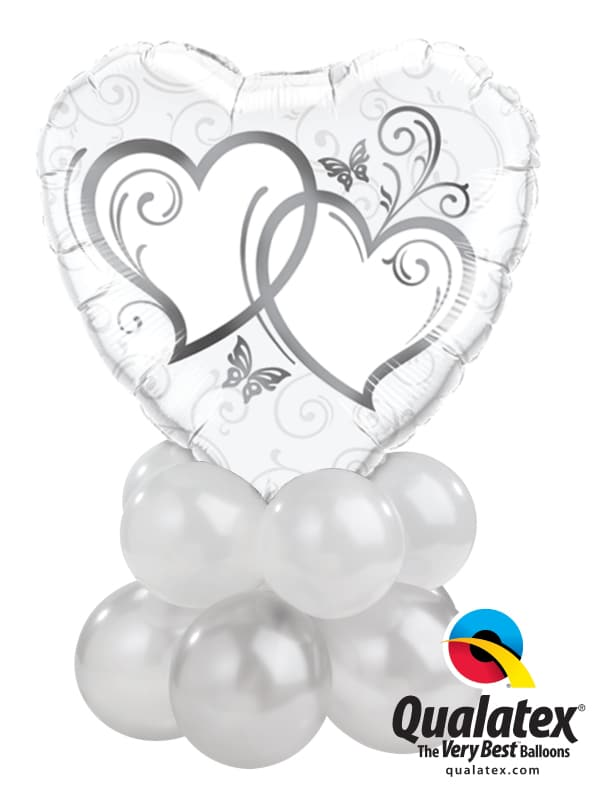 Entwined Hearts Silver Mini Image
