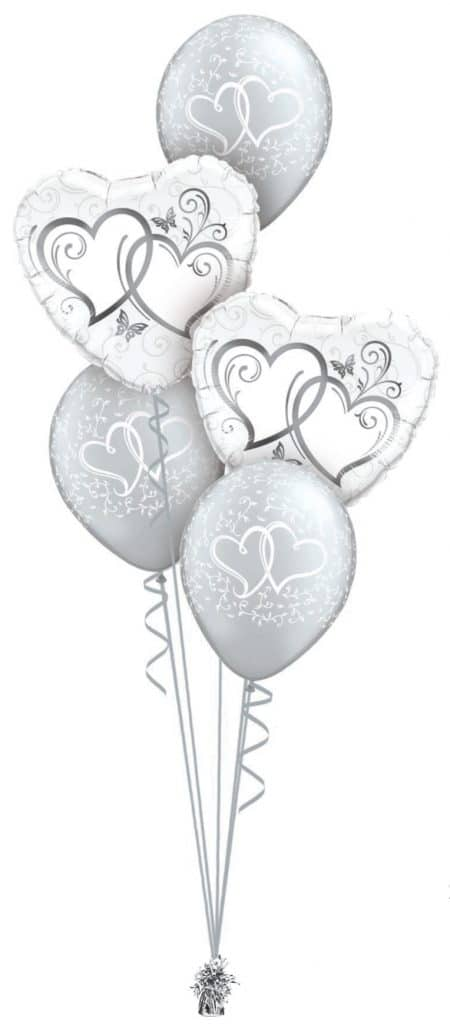 Entwined Hearts Silver Classic Image