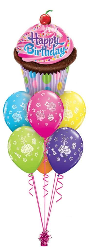 Birthday Cupcake Luxery Image