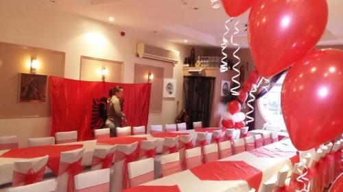 Wedding Balloons at Izmir Turkish Restaurant Barry
