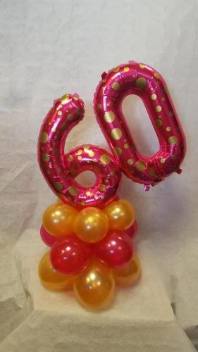 Mini Table Number. Available In all ages and many colours