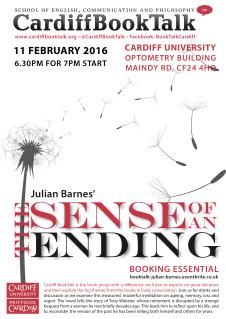 11 Feb 2016: Julian Barnes, The Sense of an Ending