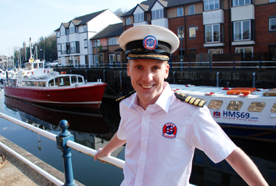 Martyn Driscoll founder of Cardiff Cruises