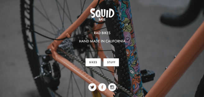 squid bikes cardiff cyclist cycling wales gourmet bespoke online shops