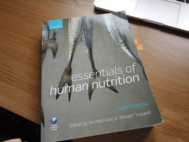 Books you need for Human Nutrition and Dietetics at Cardiff Metropolitan University Year one Cardiff Cyclist Essentials of human nutrition Mann and truswell