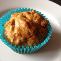 This week we're eating... pineapple and raisin muffins