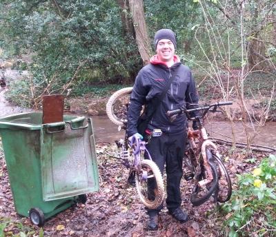 2012-12-06 bikes and bin