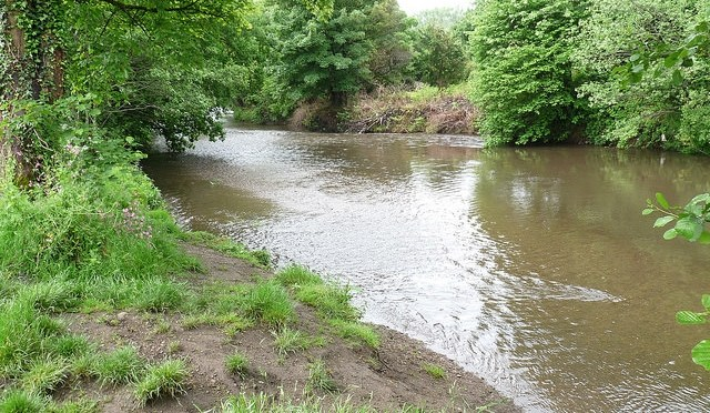 the river at Ball Lane