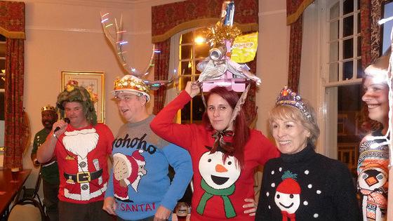 Xmas party hats