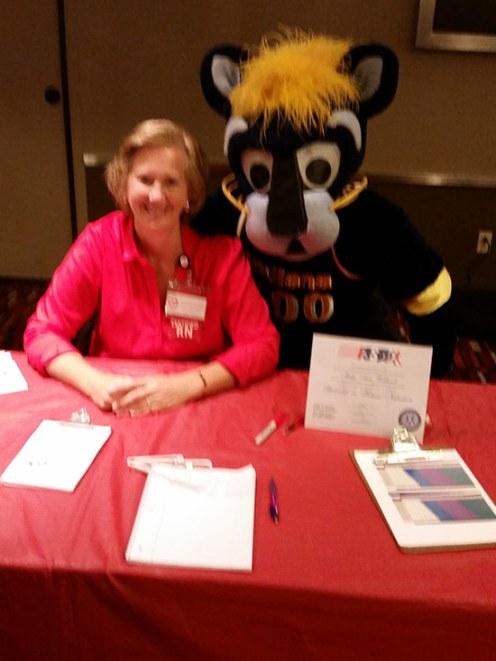 Mary Ann Wietbrock, Wellness Coach at event