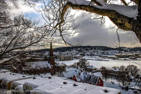 Tønsberg, Winter Landscape.