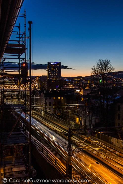 Oslo, cityscape / nightscape.