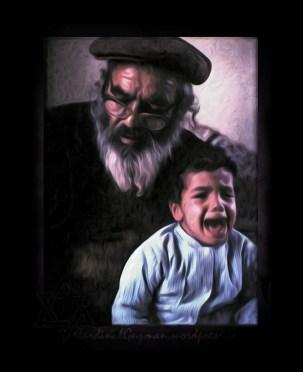 Grandpa & Kid.