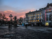 Stortorvet ('The Grand Plaza') is a square in Oslo, Norway, located west of Oslo Cathedral.