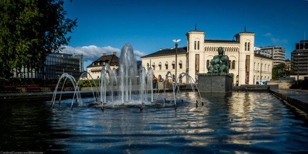 Fountain & the Nobel Peace Center.