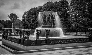 Fountain at Vigelandsparken (The Frogner Park)