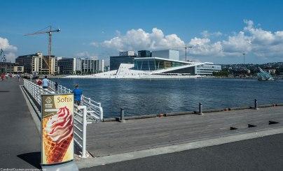 Bjørvika with the Opera
