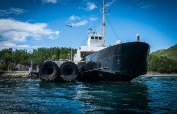 """Bogøy"", the local ferry."