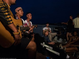A Couchsurfing concert