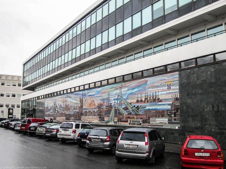 Mural, Reykjavik, iceland.