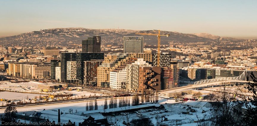 January 2016: View over Oslo from Ekeberg