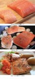Wild versus farmed salmon / some of my salmon dishes. Photo and text by Romi Ichikawa