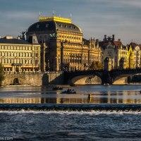 Vltava River in Praha