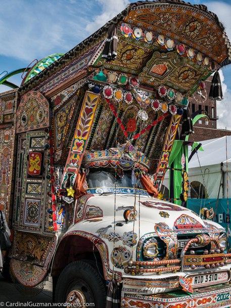 The Mela festival truck.