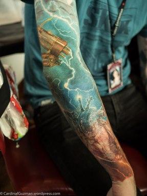Gunnar's arm