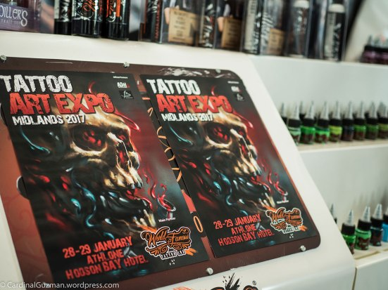 Midlands Tattoo Expo poster