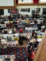 Early Saturday morning at Titanic International Tattoo Convention.