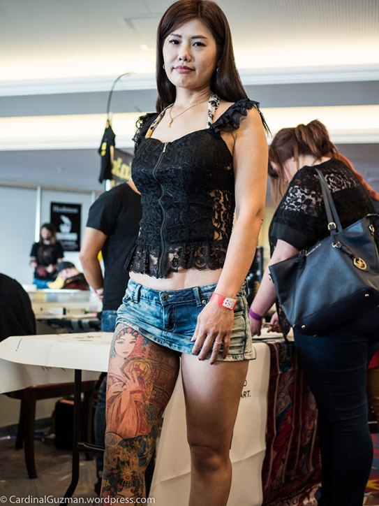 Jenna Huang - inked by George Chou. .
