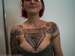 Carissa Black got inked by John Jamison Rainey / ink by Snoopytats.